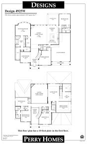 perry home floor plans 3481w 1 story perry home floor plan awesome perry homes floor