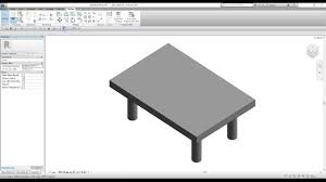 revit architecture lesson 32 how to create a family youtube