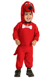 Childrens Animal Halloween Costumes by Clifford The Big Red Dog Costume