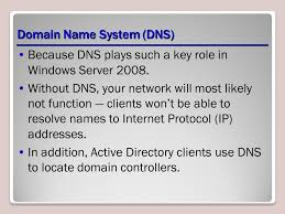 Domain Naming System Dns Tech by Configuring And Managing The Dns Server Role Lesson Ppt Download