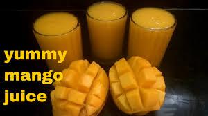 Mango Juice how to make fresh mango juice ripe mango juice