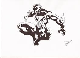 spiderman 2099 by juanma07 on deviantart
