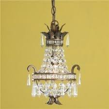 Basket Chandeliers Antique Mini Chandelier Foter