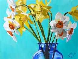 color of spring daffodils pj cook gallery of original fine art