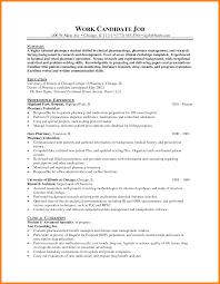 Pharmacy Intern Resume Sample Research Pharmacist Sample Resume Mitocadorcoreano Com