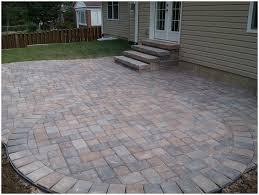 Stone Paver Patio Ideas by Backyards Wonderful Paver Backyard Ideas Backyard Hardscape