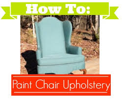 Where To Buy Upholstery Fabric Spray Paint Diy Painted Chair Upholstery Southern Savers