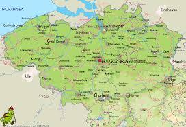 belgium in the map belgium