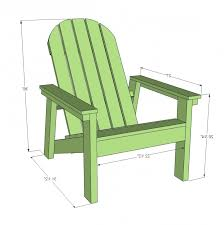 Adirondack Chairs Blueprints Ana White 2x4 Adirondack Chair Plans For Home Depot Dih Workshop