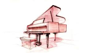 piano perspective sketch jay zuck u0027s sketch of the day