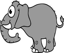 elephant cartoon pics