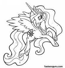 incredible interesting pony coloring pages print