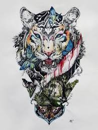 king tiger tattoo http gotattooideas com incredible queen