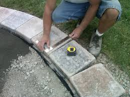Cutting Patio Pavers Brick Pavers Canton Plymouth Northville Arbor Patio Patios