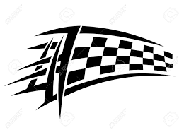Ford Racing Flag 279 Autosport Stock Vector Illustration And Royalty Free Autosport