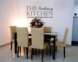kitchen artwork ideas details personalised kitchen wall sticker any name dma homes