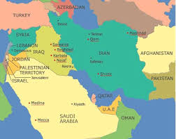 middle east map medina lines and deadlines map 2 sunni and shi a the worlds of