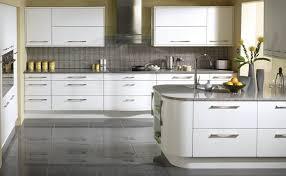 Art Deco Kitchen Design by Thames U003cbr U003e Slab High Gloss Slab Available In White Alabaster
