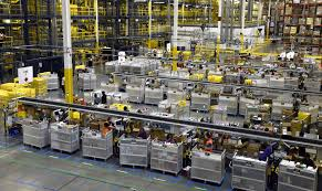 amazon warehouse black friday amazon showcases robots at massive new warehouse baltimore sun