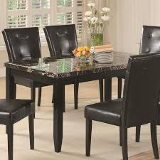 Black Wood Dining Room Table Best 25 Faux Marble Dining Table Ideas On Pinterest Refurbished