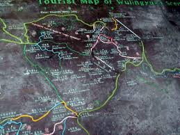 Scenic Route Map by Map Of Wulingyuan Scenic Area