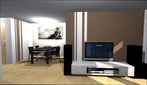 Wandgestaltung Braun Ideen Wohnzimmer Beige Braun Komfortabel On Moderne Deko Ideen Auch