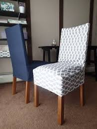 Diy Dining Chair Slipcovers Up Of Closure Detail On Dining Chair Slipcover She S