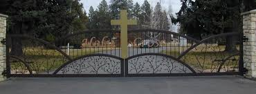 drive ornamental iron gates spokane gallery 1