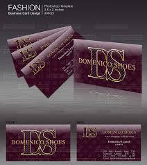 Business Card Fashion Designer Fashion Style Business Card Templates Clik International