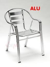 chaise jardin aluminium chaise aluminium exterieur chaise de jardin grise maisondours