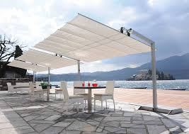 Commercial Retractable Awnings Flexy Series Commercial Freestanding Awning 8ft Deep With