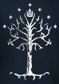 lord of the rings tree of gondor logo t shirt nerdkungfu