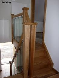 Oak Banister S Vision Glass Balustrade System Oak Handrails Stair Banister