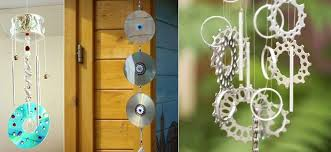 Garden Crafts Ideas - wind chime crafts 21 brilliant upcycled ideas to make
