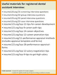 dental assistant resume template dental assistant resume templates 6 registered dental assistant