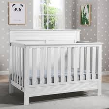 White Convertible Cribs On Me Aden 4 In 1 Convertible Mini Crib Reviews Wayfair