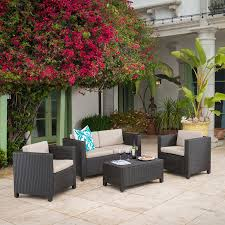 Repainting Metal Patio Furniture - furniture interesting wicker patio furniture for modern outdoor
