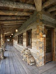 wrap around porch and dovetail log corners log cabin homes