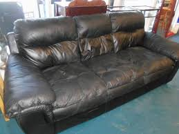 Used Leather Sofa by Italian Leather Couch Sofa The Jackpot New U0026 Used Furniture