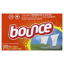 amazon com bounce outdoor fresh fabric softener sheets 120