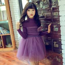 2018 Baby Girls Dress Long Sleeve Kids Winter Sweaters Dresses