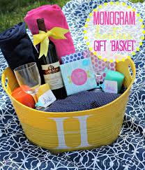 hostess gift baskets for spring fabfound bridal inspiration