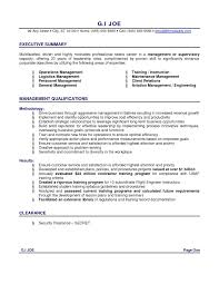 Logistics Management Specialist Resume Opening Summary For Resume Resume For Your Job Application