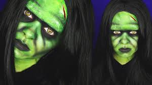 female frankenstein u0027s monster makeup tutorial sfx youtube