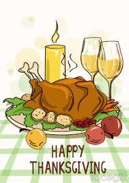 thanksgiving turkey dinners cartoon thanksgiving turkey dinner vector free download
