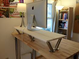 Ikea Sit Stand Desk The Bekant Standing Desk From Ikea Sit Stand Desk The Decoras