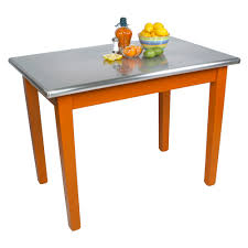 kitchen islands u0026 tables stainless steel kitchen work table with