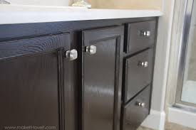 How To Stain Unfinished Cabinets by How To Stain Oak Cabinets The Simple Method Without Sanding