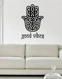 popular meditation room decor buy cheap meditation room decor lots good vibes hamsa mandala wall vinyl sticker yoga room decor yoga meditation home decor fatima hand