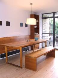 Bench Seat Dining Room Kitchen Bench Seat Dining Room Contemporary With Dining Pendant